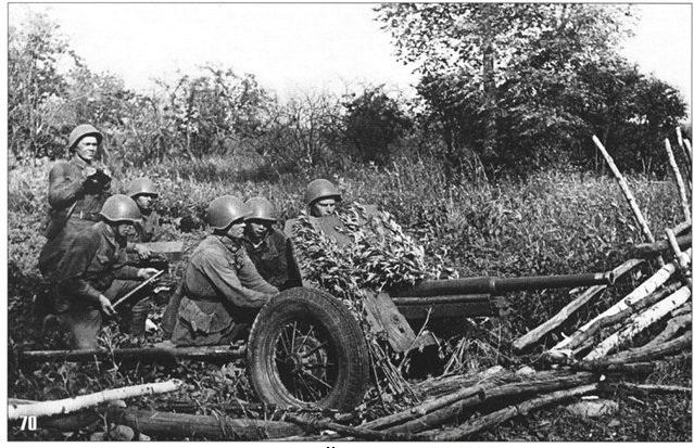 фото 45 мм пушки