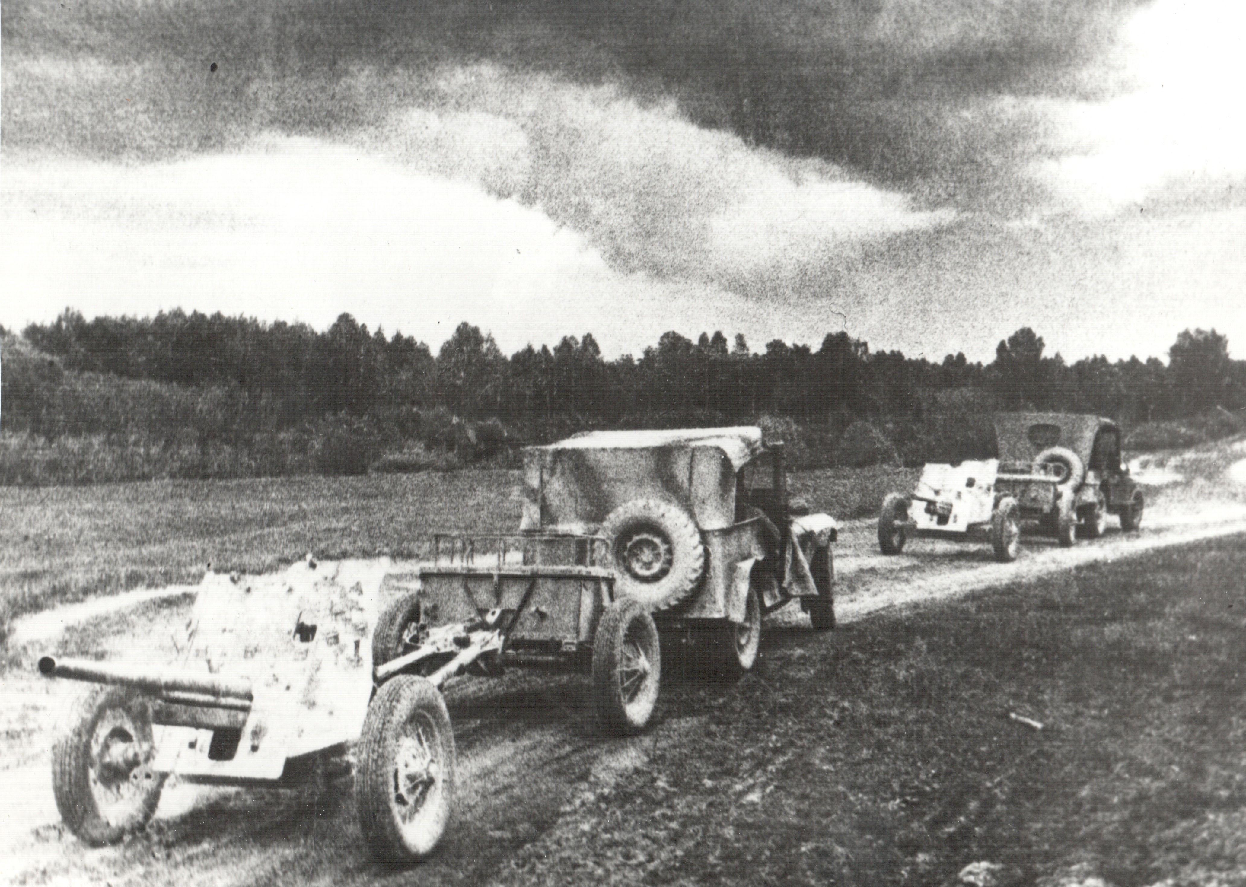 фото 45-мм противотанковой пушки