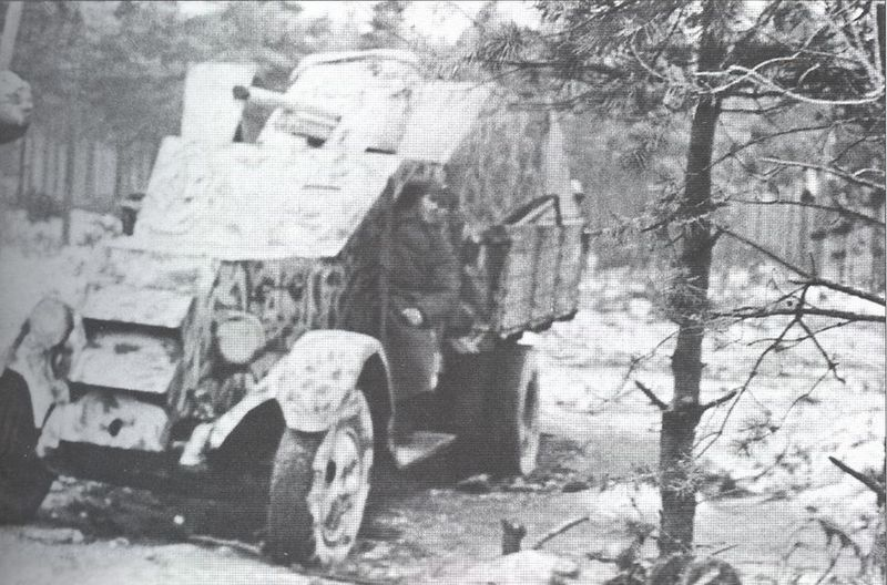 45-мм противотанковая пушка установленная в кузове грузовика ЗИС-5.