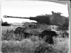 Дебют Тигр II на восточном фронте