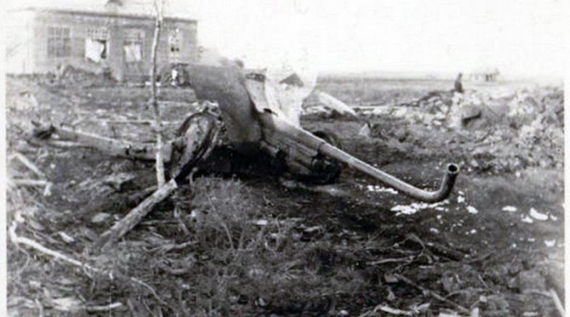 Ф-22 уничтоженная