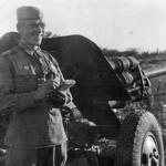 фотография пушки УСВ, 1943 год.