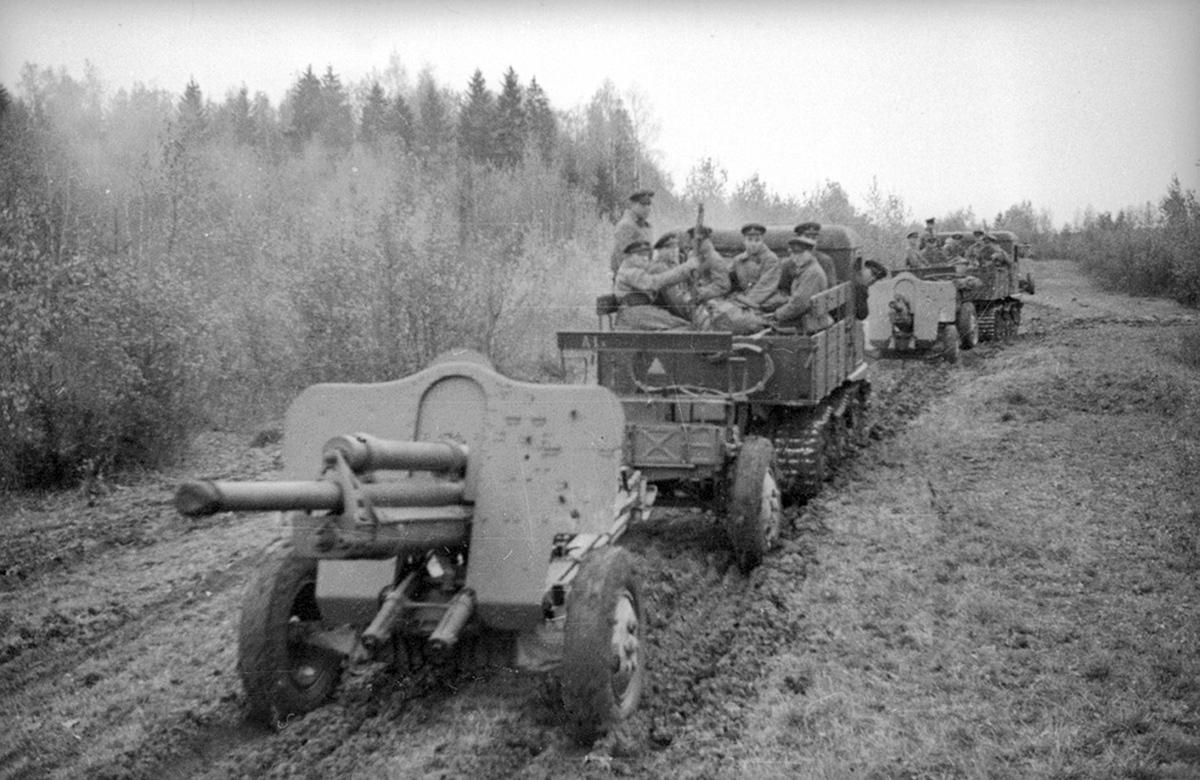 76-мм орудие УСВ 1940 год