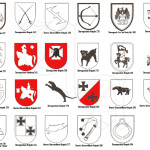 Эмблемы подразделений штурмовых орудий Германии
