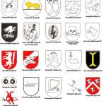 Эмблемы частей штурмовых орудий Германии