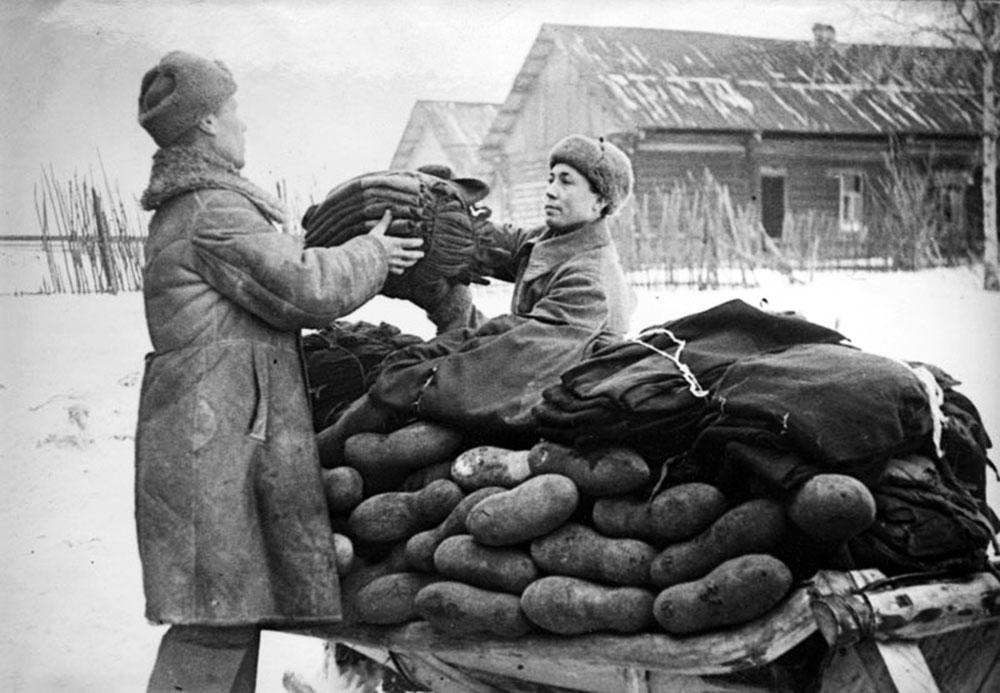 Фотография валенки РККА