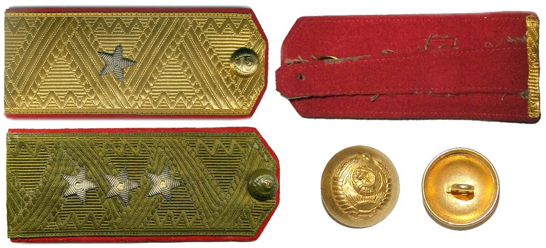 Погоны генералов Красной Армии в ВОВ