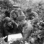 Офицеры Красной Армии с погонами 1943 г.