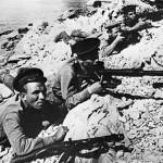 морские пехотинцы с противотанковыми ружьями