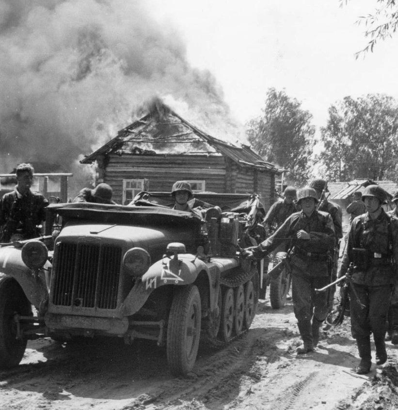 Тактические знаки противотанковой части войск СС