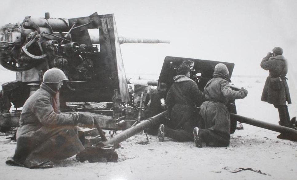 фото зис-3 в бою