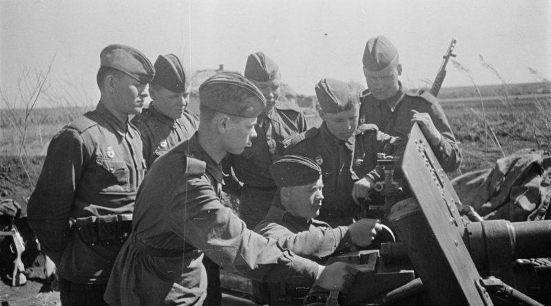 обучение артиллеристов