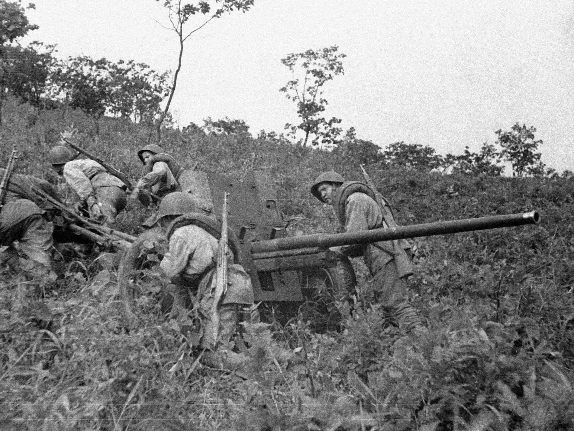 45мм противотанковая пушка образца 1942 года М-42