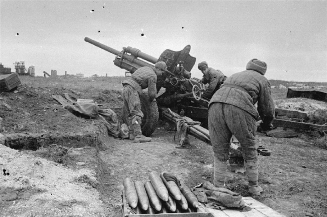 фото 76-мм дивизионной пушки УСВ