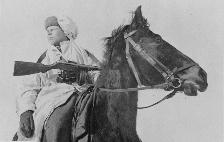 Зимний масхалат РККА, 1942 г.