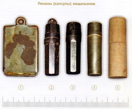 Виды медальонов Красной Армии