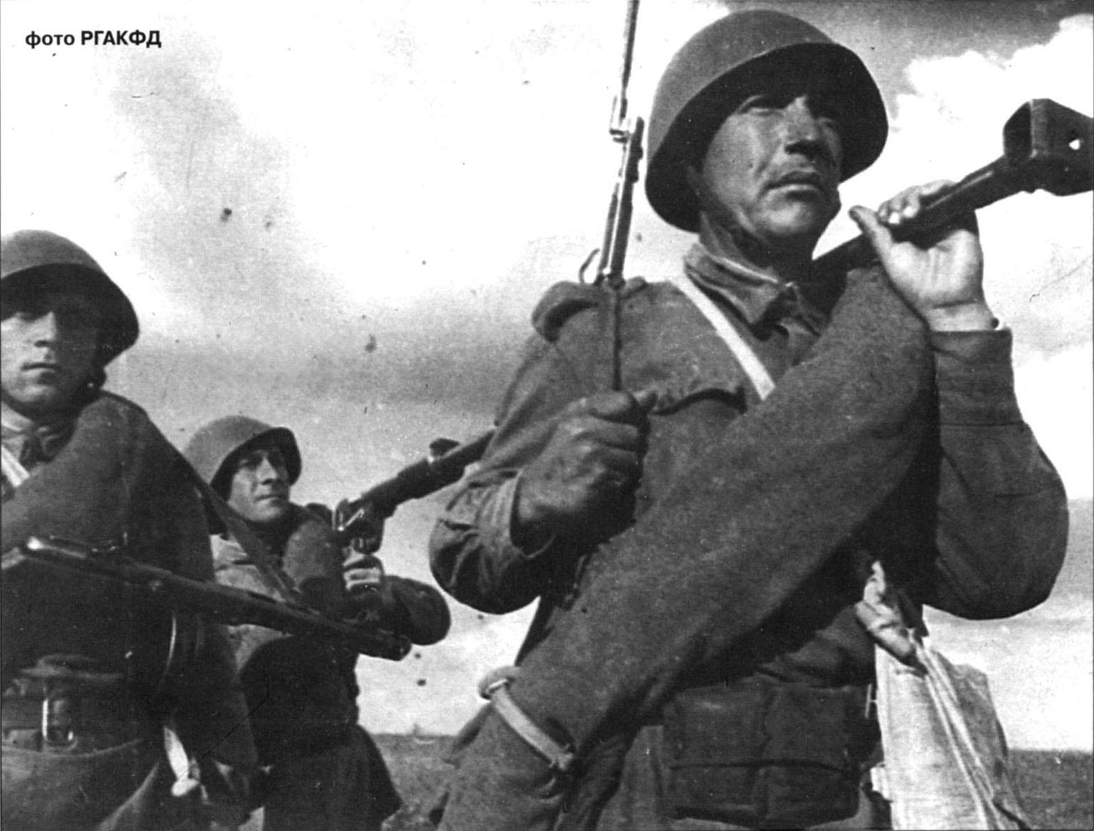 фото с ПТРД, 1943 г.