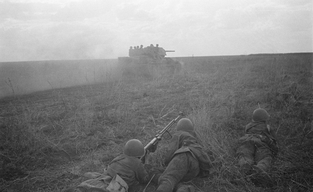 Расчет противотанкового ружья ПТРС