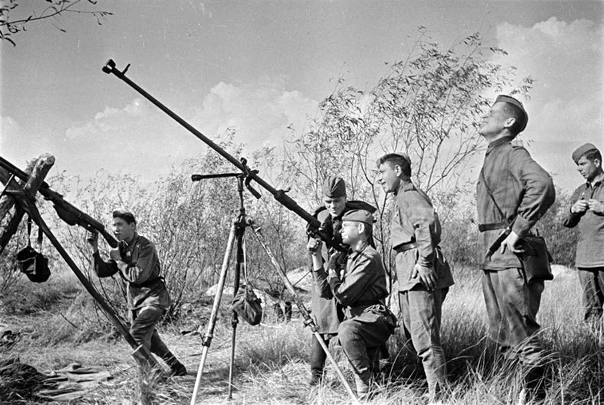 обучение стрельбе из противотанковых ружей