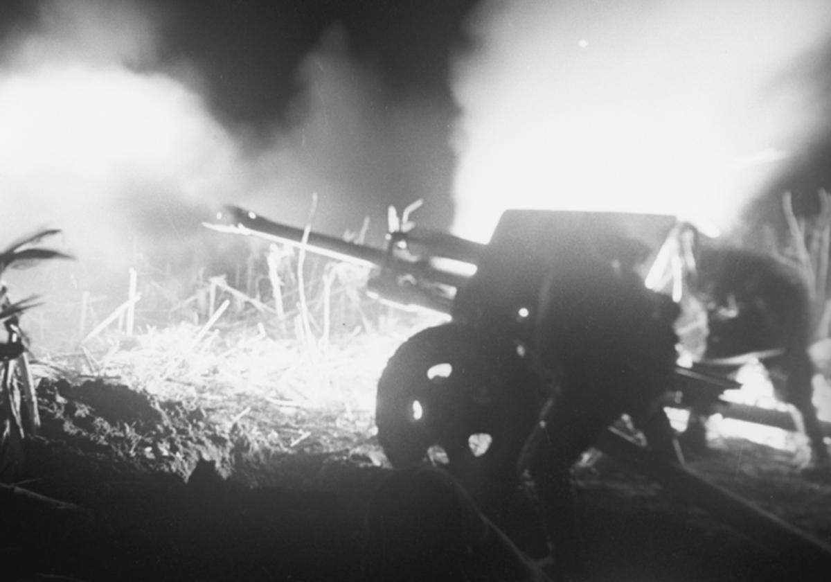 фото выстрел из ЗИС-3
